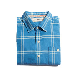 Kirkwood Twill Button Up Shirt - River