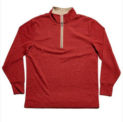 Puremeso Quarterzip - Red