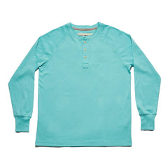 LS Lightest Weight Puremeso Henley - Mint
