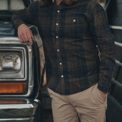 Gerard Washed Twill Button Up Shirt
