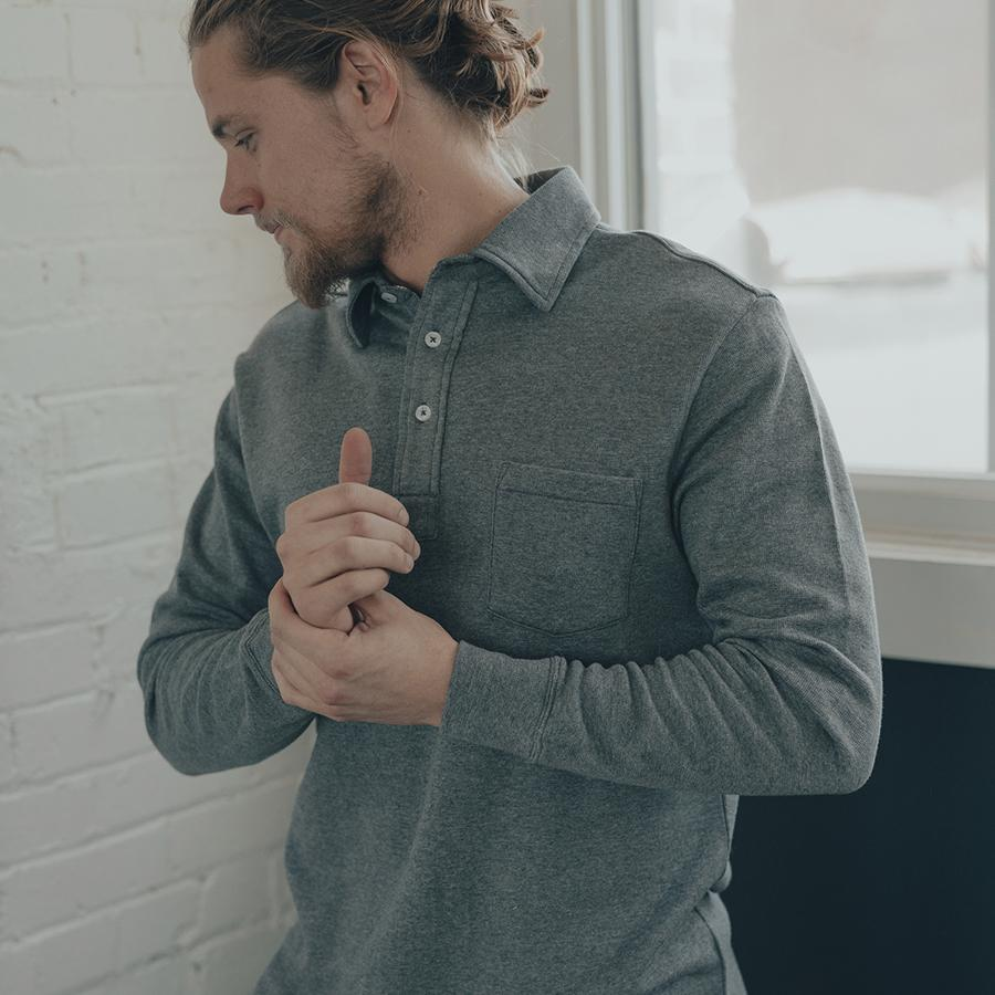 Heathered Tri-Blend Polo