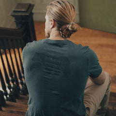 Worn in Bear Pocket T-shirt - Green Gables