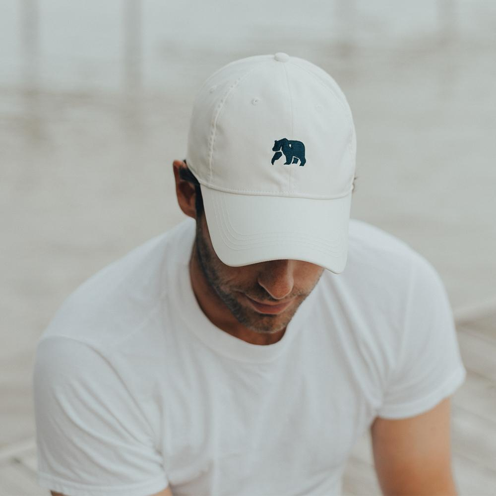 The Performance Bear Cap - White