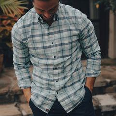 Louis Button Down Shirt - Teal