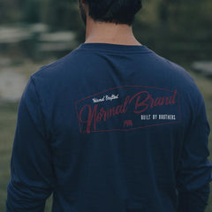 Industrial Long Sleeve T-shirt - Navy