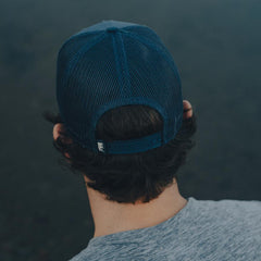 No Boundaries Trucker Cap - Mineral Blue