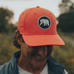 Circle Patch Performance Cap - Coral