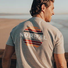 Sunset T-shirt - Grey