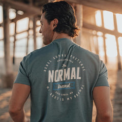 Rebel T-Shirt - Mineral Blue