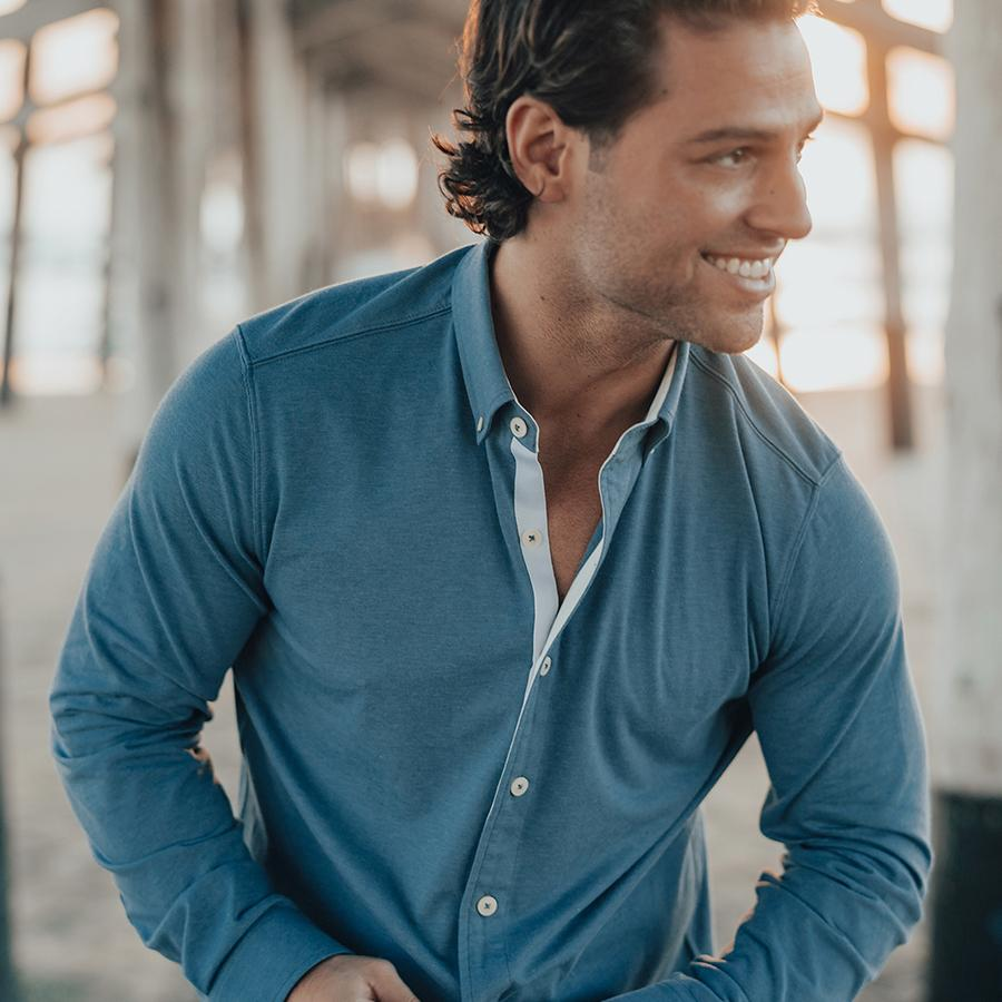 Active Puremeso Button Down