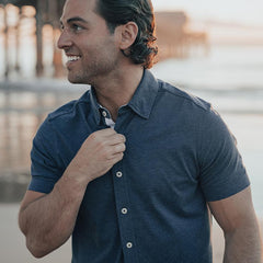 Active Puremeso Short Sleeve Button Down