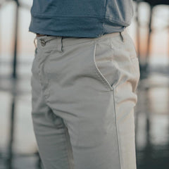Normal Stretch Chino - Gravel