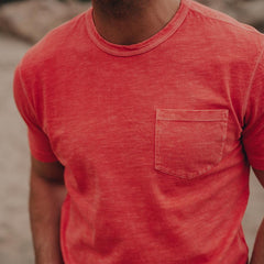 Vintage Slub Pocket T-shirt