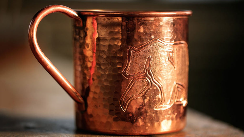 Limited Edition Original Hand Engraved Copper Bear Mug (Sold Out)