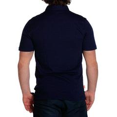 weekend slub mens polo navy