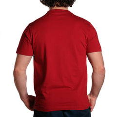 outline bear short sleeve t shirts red