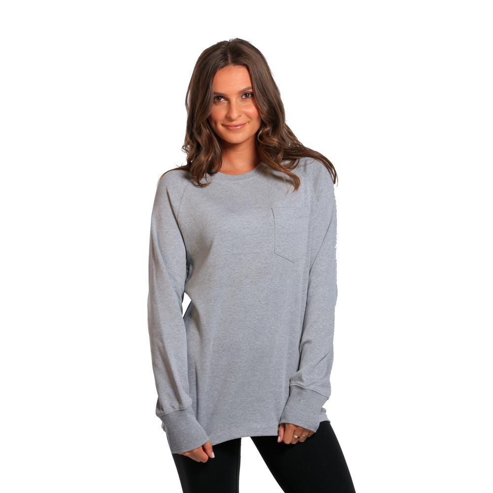 Boyfriend Puremeso Pocket Crew - Grey