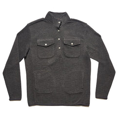 Snap-Button Pullover