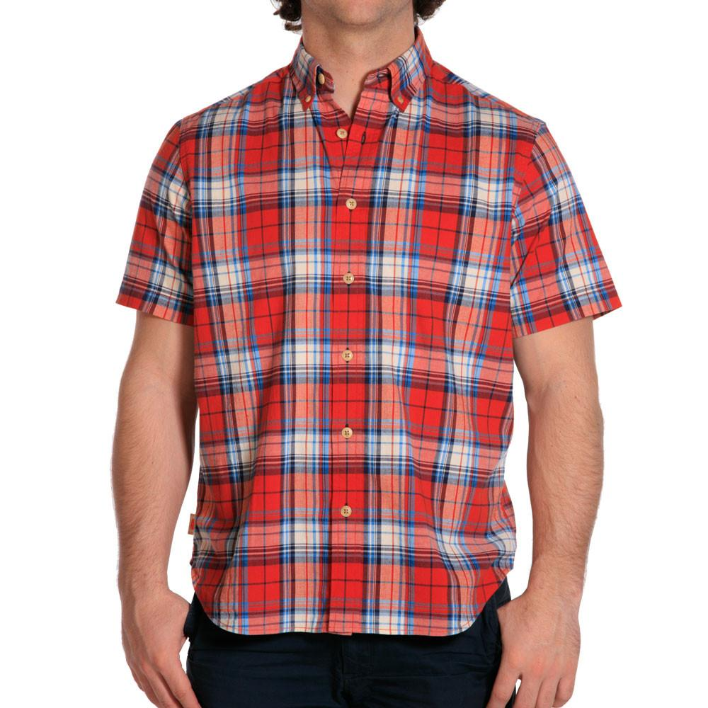 Stefan Stretch Plaid - Red