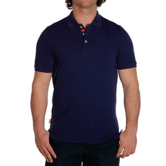 weekday stretch mens polo navy