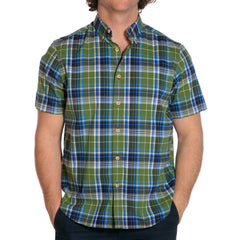 Stefan Stretch Plaid - Green