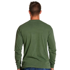 Men's Long Sleeve Bear T - Hemp