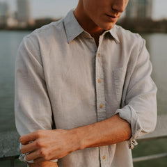 The Freeman Shirt - Dusk Grey
