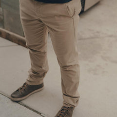 Normal Stretch Canvas Pant - Khaki