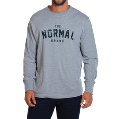 Long Sleeve Athletic Inspired T - Grey
