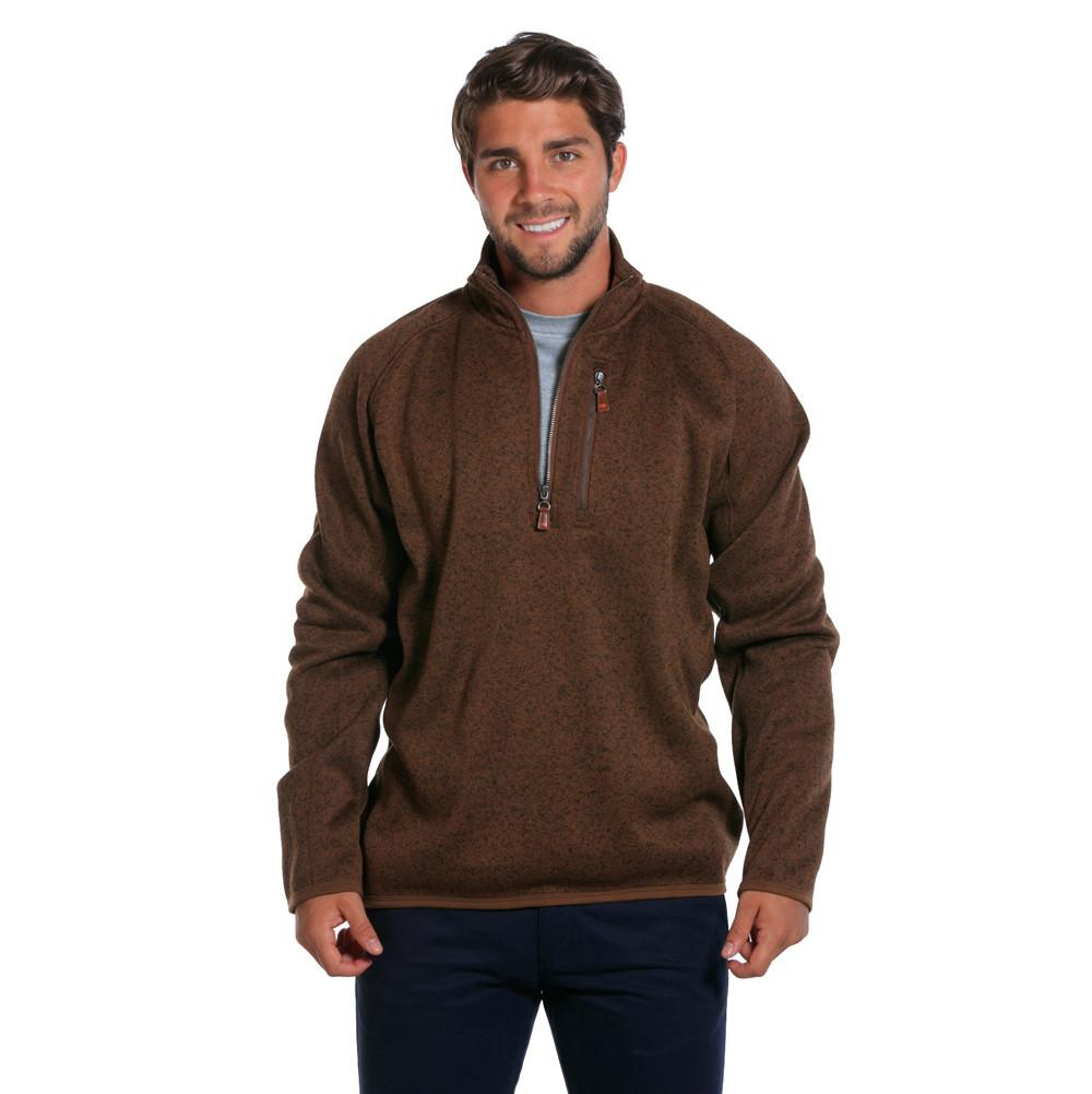 Lincoln Quarter Zip - Brown