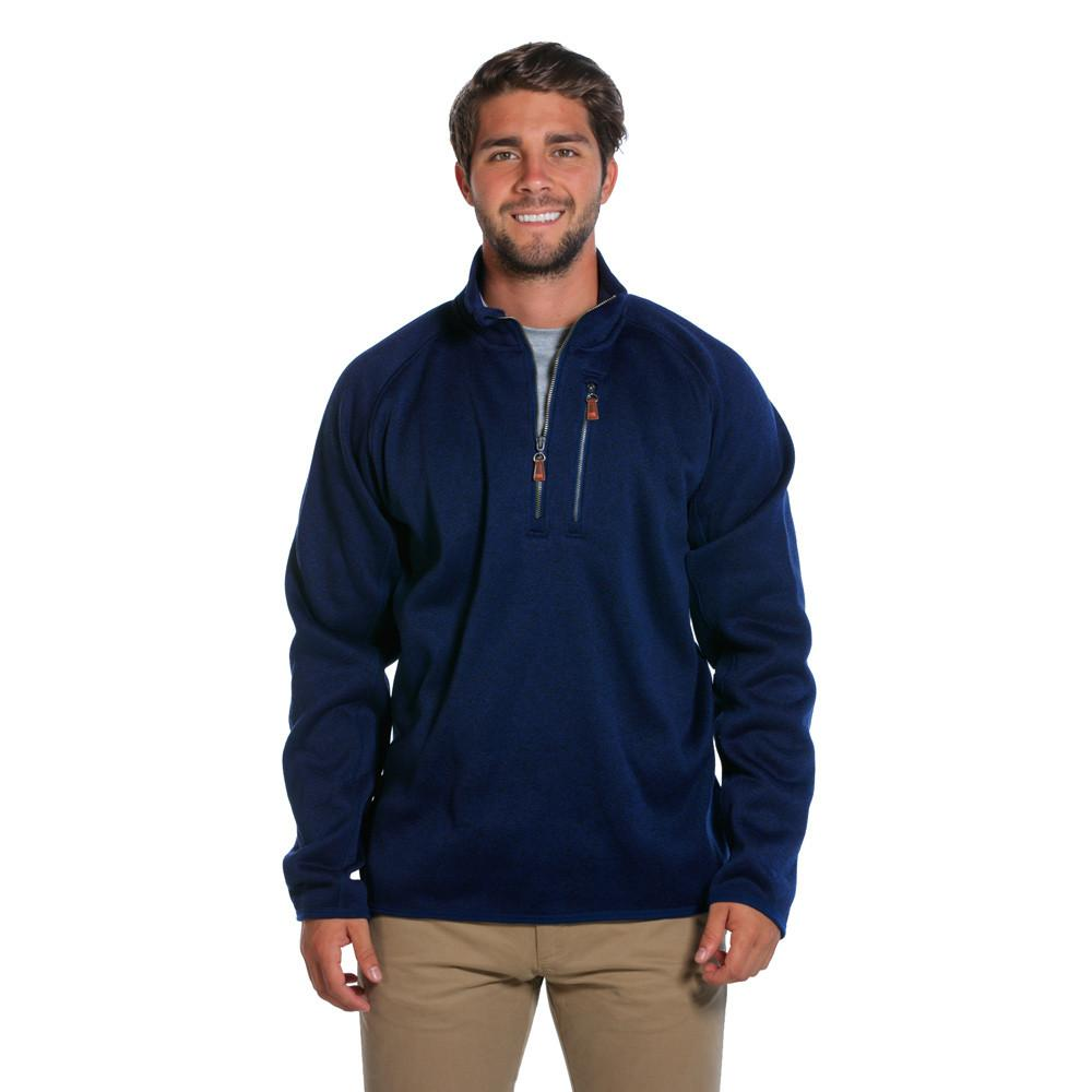 Lincoln Quarter Zip - Navy