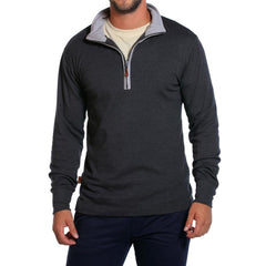 Puremeso Quarter Zip - Charcoal