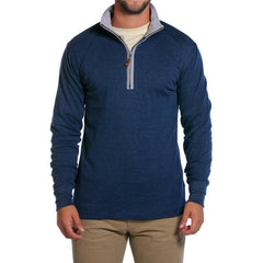 Puremeso Quarter Zip - Navy