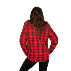 Boyfriend Conrad Shirt - Red/Grey