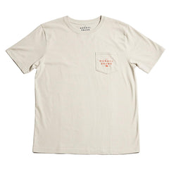 Worn in Bear Pocket T-shirt - Grey
