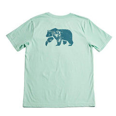 Worn in Bear Pocket T-shirt - Mint