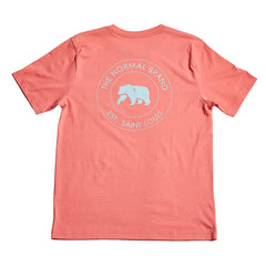 Circle Back Pocket T-shirt - Sunrise