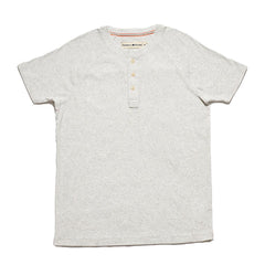 SS Lightest Weight Puremeso Henley - Stone