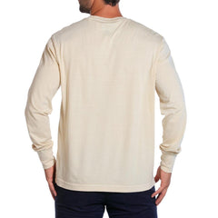 Long Sleeve Bear T - Stone
