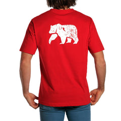 Vintage Bear T - Pigment Red
