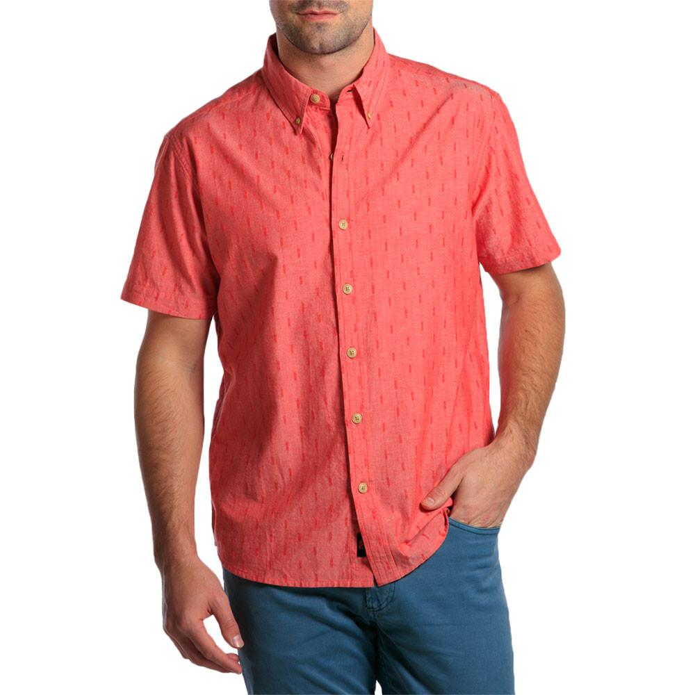 The Dobby Shirt - Red