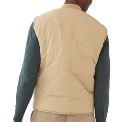 Lincoln Sherpa Lined Vest - Dune