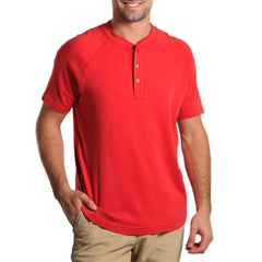 Puremeso Henley - Pigment Red