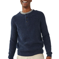 Shaker Sweater - Navy