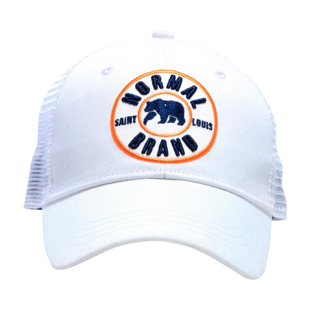 University Bear Cap - White