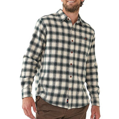 Washed Woodsman Heathered Plaid Green Gables/Ash