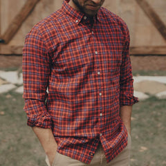 Harold Plain Weave Button Down Shirt