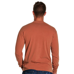Men's Long Sleeve Bear T - Yam