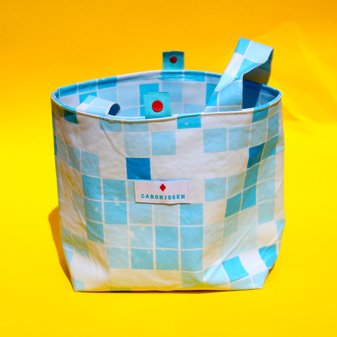 Lenkertasche Swimming-Pool - blau