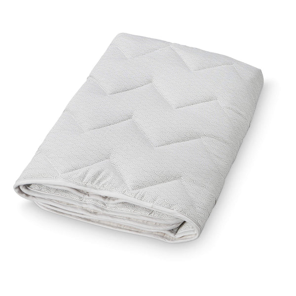 Baby Blanket - Grey Wave